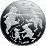 Сказочная монета III. Варежка дедушки