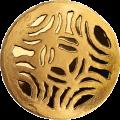 Gold Brooches. The Disc Fibula