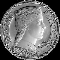 5-lats Silver Collector Coin