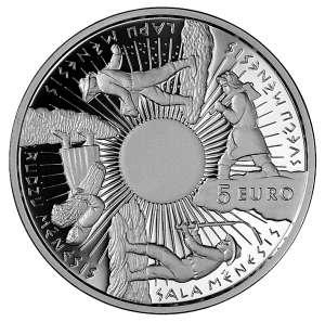 Монета времен года