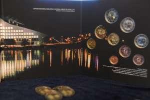 Latvian euro coins BU Set 2015