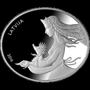 Pasaku monēta II. Eža kažociņš