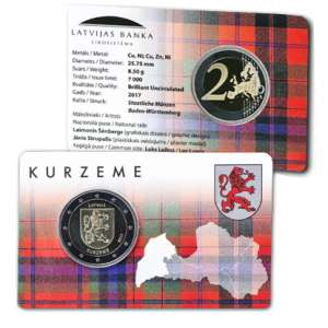 2 EURO / Kurzeme / BU